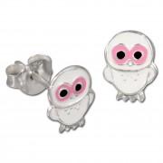 Kinder Ohrring Käuzchen Silber Ohrstecker Kinderschmuck TW SDO8100W