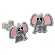 Kinder Ohrring Elefant Silber Ohrstecker Kinderschmuck TW SDO8107K