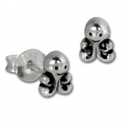 Teenie-Weenie Ohrstecker Krake 925 Sterling Silber Kinder Damen Ohrring SDO8216J