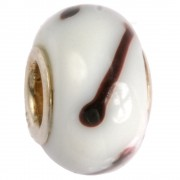 IMPPAC Glas 925 Spacer Cafe Latte European Beads SMB0202