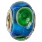 IMPPAC Glas 925 Spacer Kleckse European Beads SMB1126