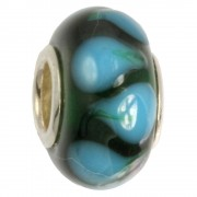 IMPPAC Glas 925 Spacer Nordlicht European Beads SMB1137