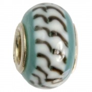 IMPPAC Glas 925 Spacer Bead Arctic European Beads SMB3224