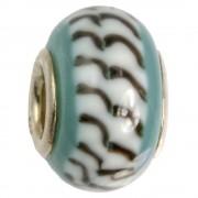 IMPPAC Glas 925 Spacer Bead Arctic European Beads SMB3224