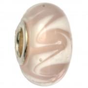 IMPPAC Glas 925 Bead Spacer swirly European Beads SMB8052