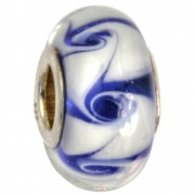 IMPPAC Glas 925 Spacer squiggly European Beads SMB8055