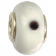 IMPPAC Glas 925 Bead Spacer cream European Beads SMB8074