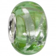 IMPPAC Glas 925 Bead Spacer grün European Beads SMB8100