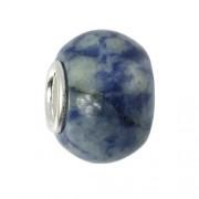 IMPPAC Stein 925 Bead Quarzit European Beads Armband SMDE26