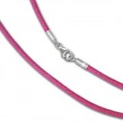 IMPPAC Textil Armband 925 pink für European Beads SML8421