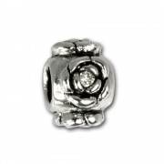 IMPPAC Sterling Silber Bead Kugel Rose European Beads SMQ398W