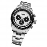 Fonderia Herren-Armbanduhr P-0A011USN Quarz Edelstahl-Armband silber UAP0A011USN