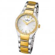 Candino Damen-Armbanduhr Timeless analog Quarz Edelstahl Gelbgold PVD UC4538/1