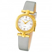 CANDINO Damen-Uhr - Elegance Flair - Analog - Quarz - Leder/Textil - UC4561/1