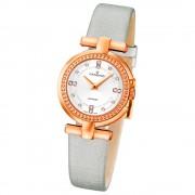 CANDINO Damen-Uhr - Elegance Flair - Analog - Quarz - Leder/Textil - UC4562/1