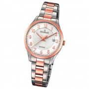 Candino Damen-Uhr Edelstahl silber roségold C4610/1 Quarz Klassisch UC4610/1