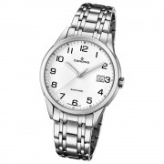 Candino Herren-Armbanduhr Edelstahl silber C4614/1 Quarz Klassisch UC4614/1