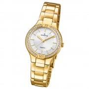Candino Damen-Armbanduhr Edelstahl gold C4629/1 Quarz Casual UC4629/1