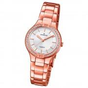 Candino Damen-Armbanduhr Edelstahl kupfer roségold C4630/1 Quarzuhr UC4630/1