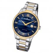 Candino Herren Armbanduhr Classic C4639/3 Edelstahl Quarz silber gold UC4639/3