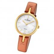 Candino Damen Armband-Uhr Lady Elegance C4649/1 Quarzuhr Leder braun UC4649/1