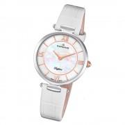 Candino Damen Armband-Uhr Lady Elegance C4669/1 Quarzuhr Leder weiß UC4669/1
