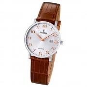 FESTINA Damen-Armbanduhr analog Quarz Leder Klassik Uhr UF16477/2
