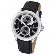 FESTINA Herrenuhr Multifunktionsuhr Quarz Klassik schwarz Klassik Uhr UF16573/3