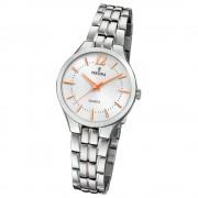 Festina Damen Armband-Uhr F20216/1 Quarz Edelstahl silber UF20216/1