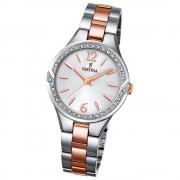 FESTINA Damen-Armbanduhr Mademoiselle F20247/1 Quarz Edelstahl silber UF20247/1