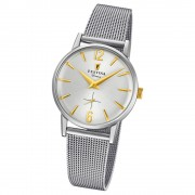 FESTINA Damen-Uhr Extra Kollektion F20258/2 Quarz Edelstahl silber UF20258/2