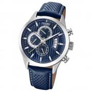 Festina Herren Uhr Chronograph F20271/5 Quarz Leder blau UF20271/5