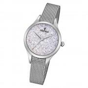 Festina Damen Uhr Swarovski Elements F20336/1 Edelstahl Armband silber UF20336/1