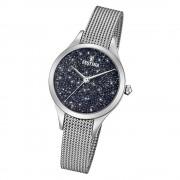 Festina Damen Uhr Swarovski Elements F20336/3 Edelstahl Armband silber UF20336/3