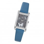 Girl Only Damen Armbanduhr GO 699207 Analog Quarz Uhr Leder blau UGO699207