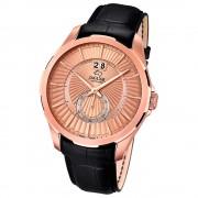 JAGUAR Herren-Armbanduhr ACM Saphirglas Quarz Leder schwarz UJ683/1