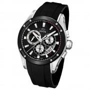 JAGUAR Herren-Armbanduhr Special Edition Saphirglas Quarz PU schwarz UJ688/1