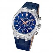 Jaguar Herren-Armbanduhr Leder blau J696/2 Saphir Daily Classic UJ696/2