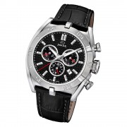Jaguar Herren-Armbanduhr Leder schwarz J857/4 Saphir Executive UJ857/4