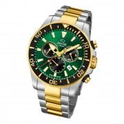 Jaguar Herren-Armbanduhr Edelstahl silber gold J862/3 Saphir Executive UJ862/3