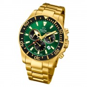 Jaguar Herren-Armbanduhr Edelstahl gold J864/1 Saphir Executive UJ864/1