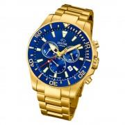 Jaguar Herren-Armbanduhr Edelstahl gold J864/2 Saphir Executive UJ864/2