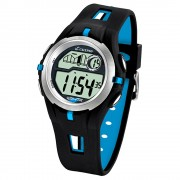 CALYPSO Herren-Armbanduhr Sport Chronograph Quarz-Uhr schwarz türkis UK5511/2
