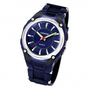 CALYPSO Herren-Armbanduhr Sport analog Quarz-Uhr PU dunkelblau UK5560/3