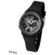 CALYPSO Damen-Armbanduhr Fashion analog Quarz-Uhr PU schwarz UK5576/6