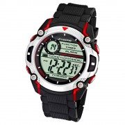 Calypso Herrenchrono schwarz-rot Digital Uhren Kollektion UK5577/4