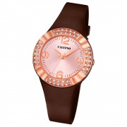 CALYPSO Damen-Uhr - Trend - Analog - Quarz - PU - UK5659/3