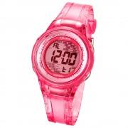 CALYPSO Damen-Armbanduhr Sport Chronograph Quarz-Uhr PU pink UK5688/2