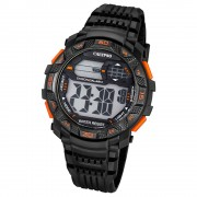Calypso Herren-Armbanduhr Digital for Man digital Quarz PU schwarz UK5702/6