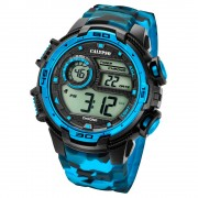 Calypso Armbanduhr Herren Digital for Man K5723/4 Quarzuhr schwarz blau UK5723/4